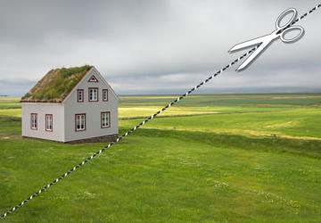 Vendre séparément sa résidence principale et une partie de son jardin : quelle fiscalité?